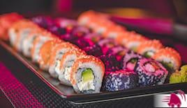 60 pezzi sushi nest