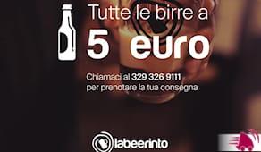 Birra labeerinto 5€