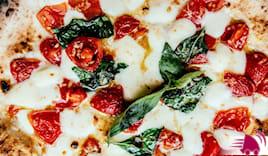 Pizza famigliare farcita