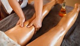 Massaggio gambe leggere