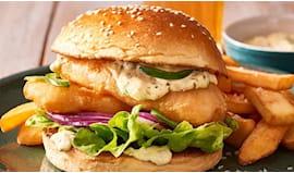 Burger a casa carne/pesce