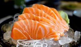 Box 30 sashimi salmone