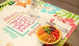 Menù poke loco restaurant