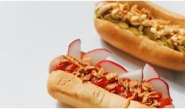 Hot dog x2 + consegna