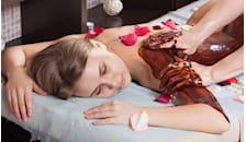 5 trattamenti di Bagno termale + massaggio + trattamento dimagrante a scelta tra cioccolato, fieno, talasso -59%