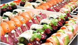 Take away sushi box