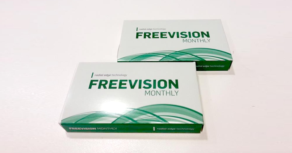 lentine a contatto mensili Vision Care, FreeVision Monthly -40%