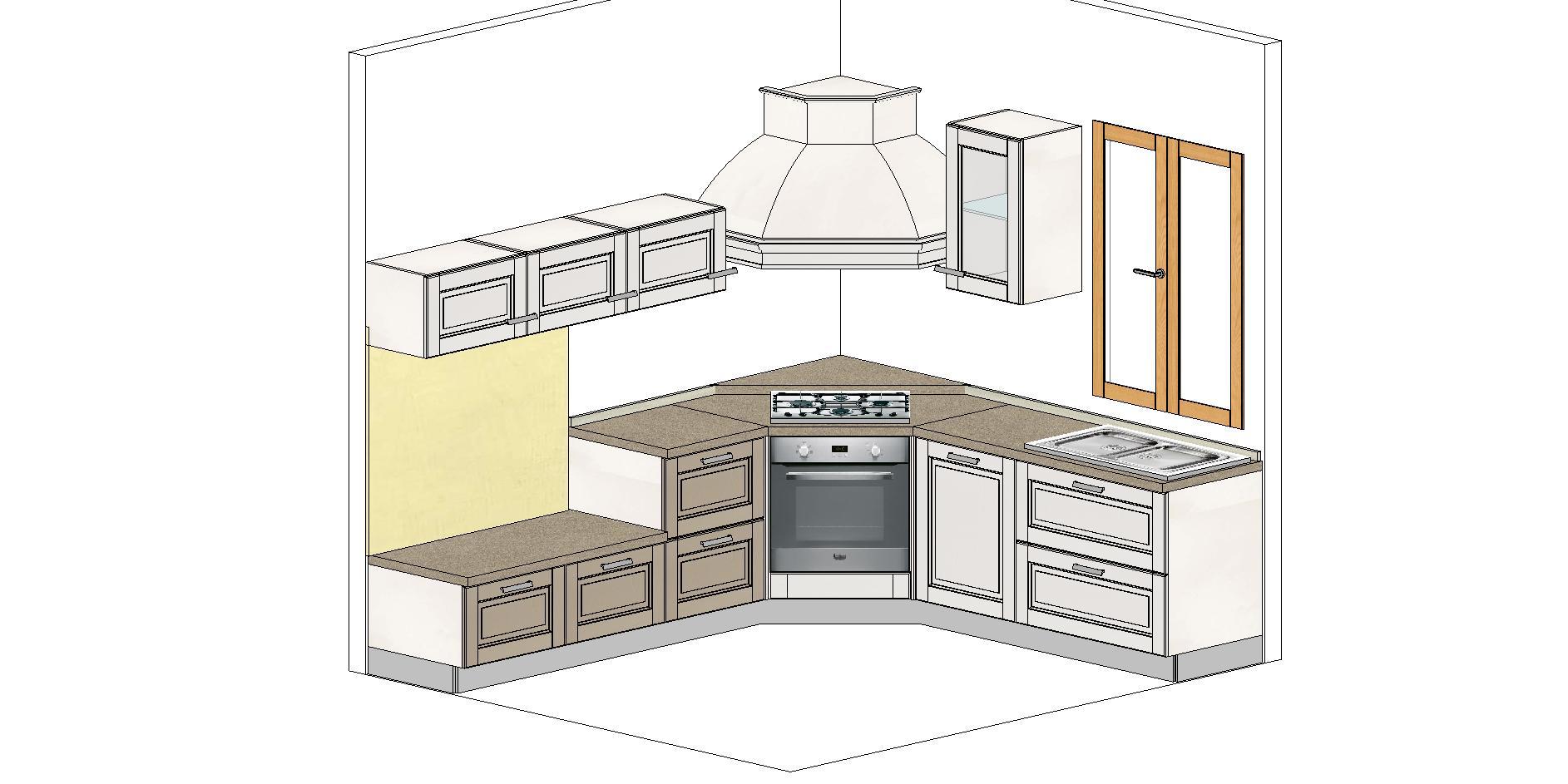 Offerta di cucina con angolo cottura a catanzaro spiiky