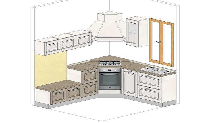 Offerta di cucina con angolo cottura a Catanzaro | Spiiky