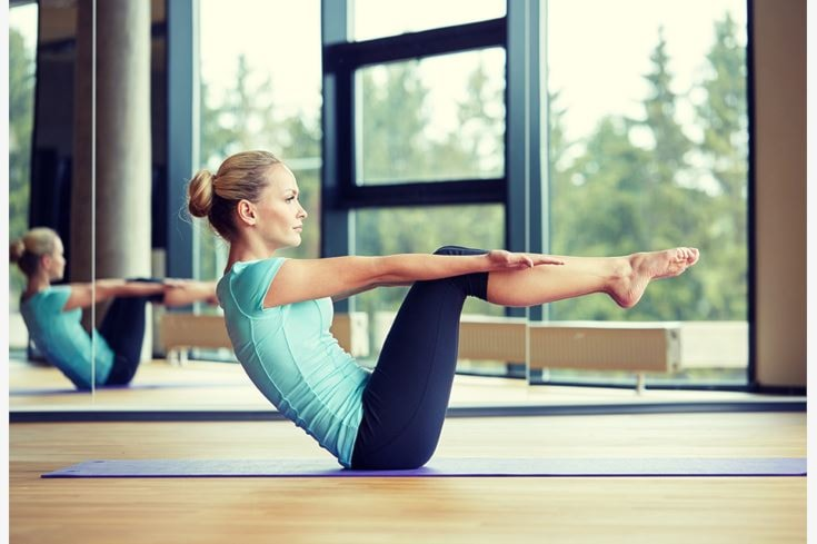 4 lezioni di pilates