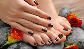 Mani e piedi + semi