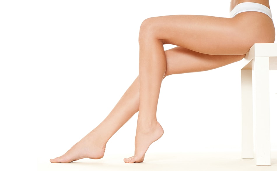 depila gambe e inguine