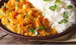 Menù indiano di pesce x2