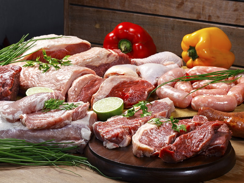 5 kg di carne di maiale