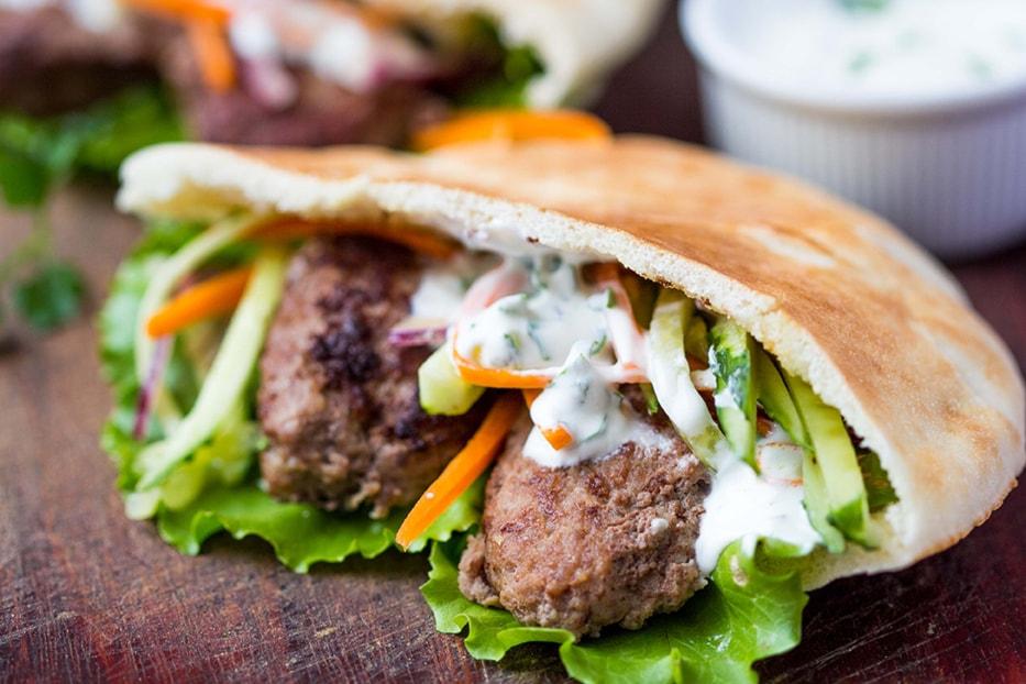 Falafel o kebab per 2