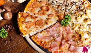 Pizze, bibite e consegna