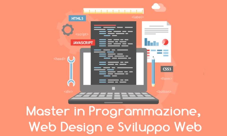 Master online in programmazione e web design