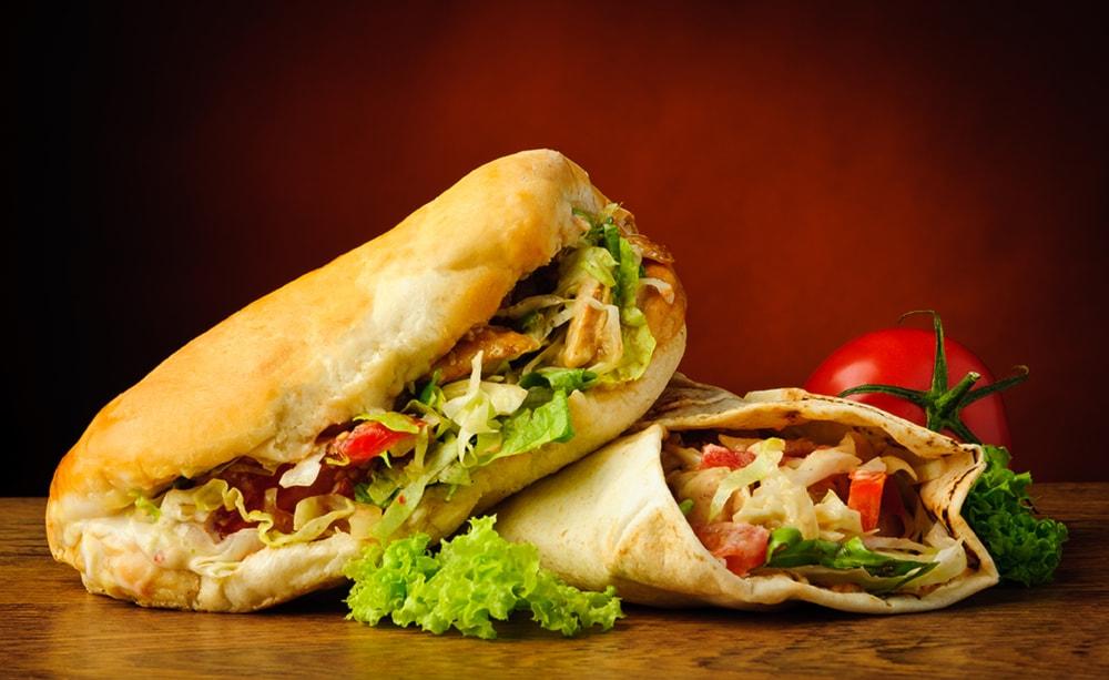 2 kebab+2 bibite e consegna a domicilio a soli 7€ anzichè 12€!