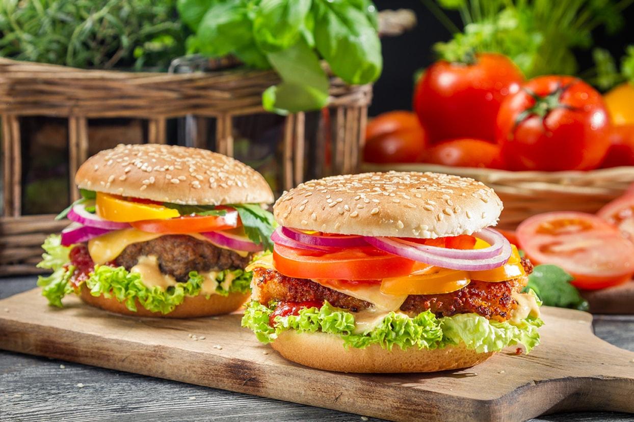 hamburger x4 domicilio