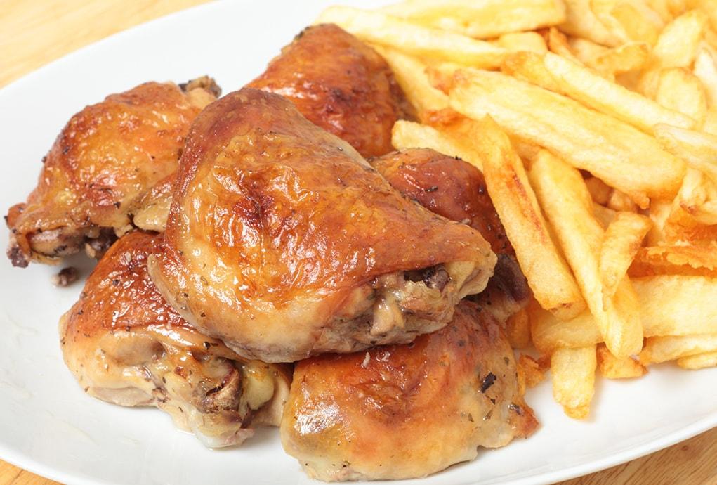 chicken&chips x2