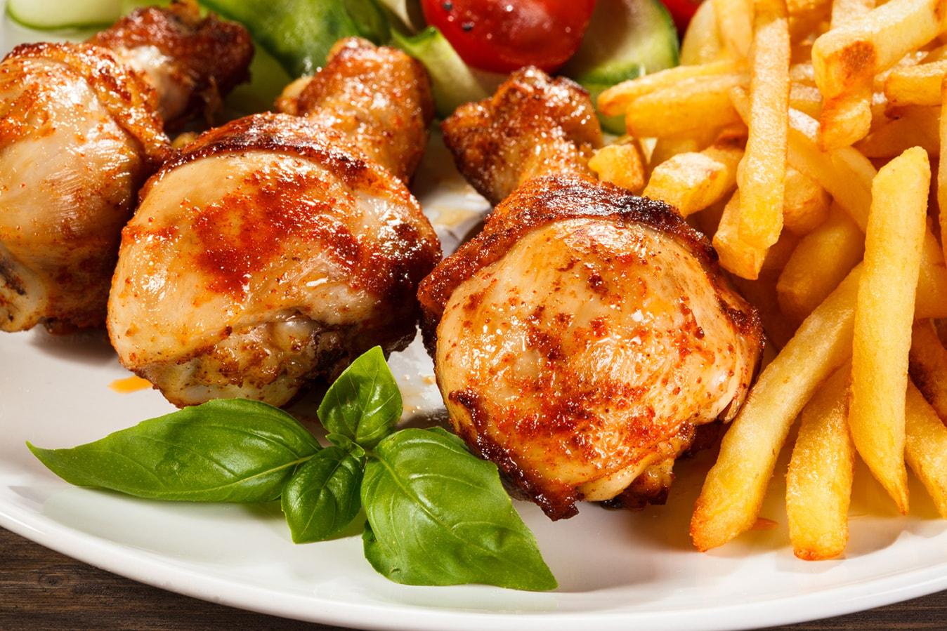 chicken&chips x4