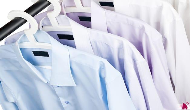 Camicie lavate e stirate