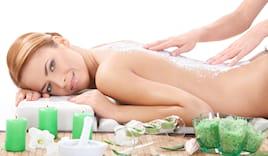 scrub corpo e massaggio