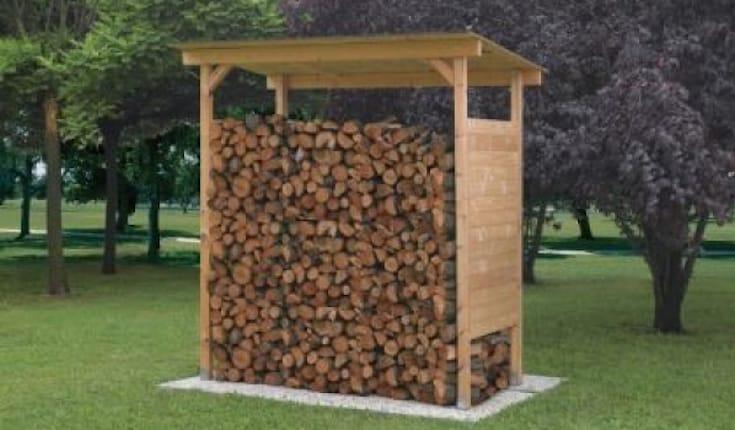offerta di legnaia porta legna a reggio emilia spiiky