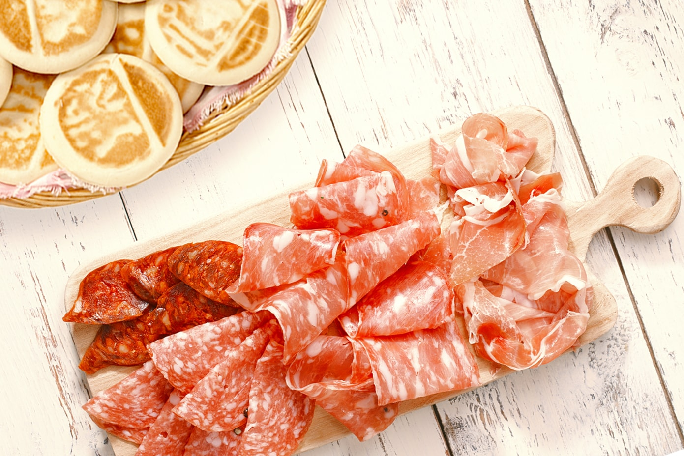Crescentine all you can eat con affettati misti per due a soli 16,90€ anzichè 36€!