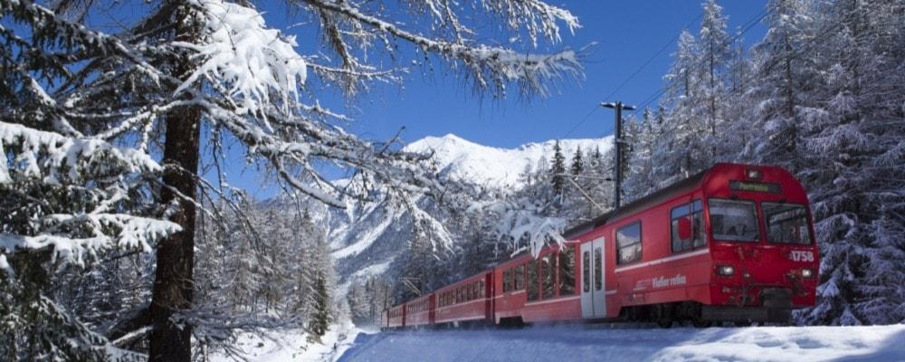 Trenino del Bernina, dal 6 all'8 dicembre ad €165 p.p. - 2 notti hotel a Tirano con prima colazione + biglietto del TreninoRosso + visite guidate