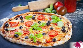pizza e fritti per due
