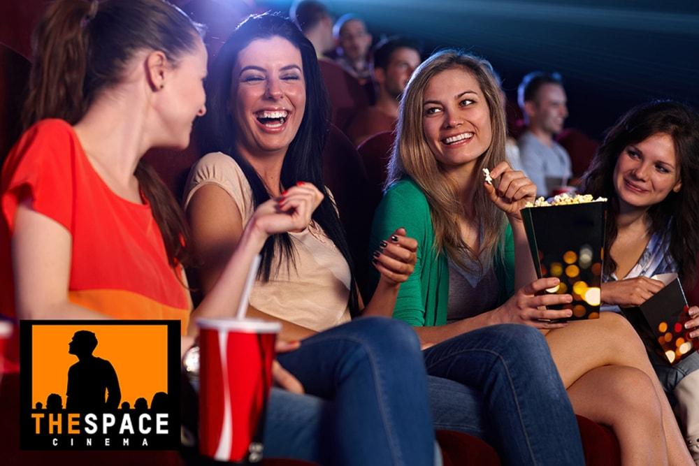 Biglietto di ingresso a 5,80€ per 1 persona valido in tutti i cinema del circuito The Space Cinema !!