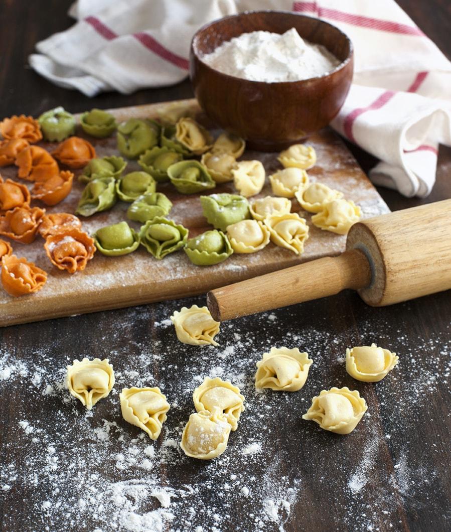 Tortelloni di Ricotta e Spinaci o Zucca fatti a mano con prodotti a KM 0 direttamente a casa tua!