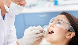 visita + pulizia denti