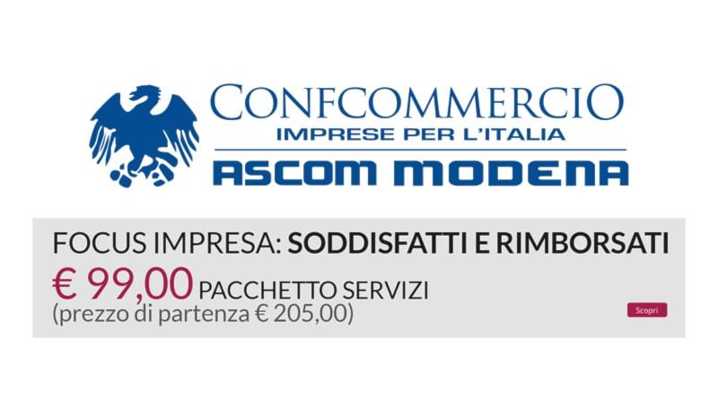 SODDISFATTI E RIMBORSATI A SOLI 99€!