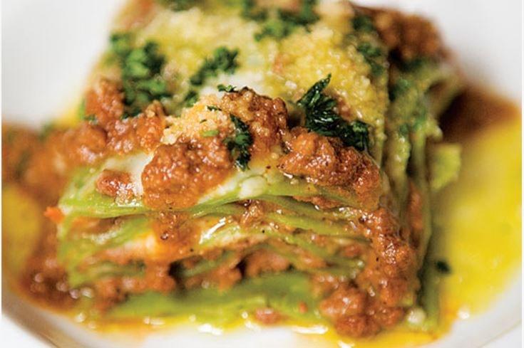lasagne pasta verde
