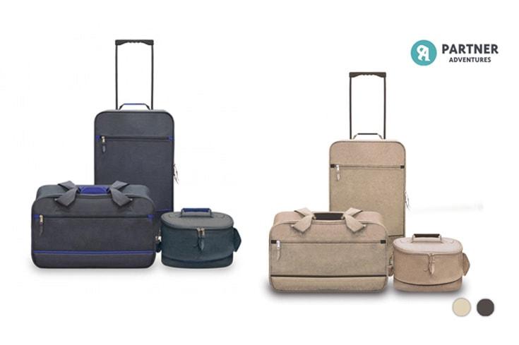 set di tre valigie Partner Adventures