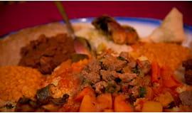 cena africana per due