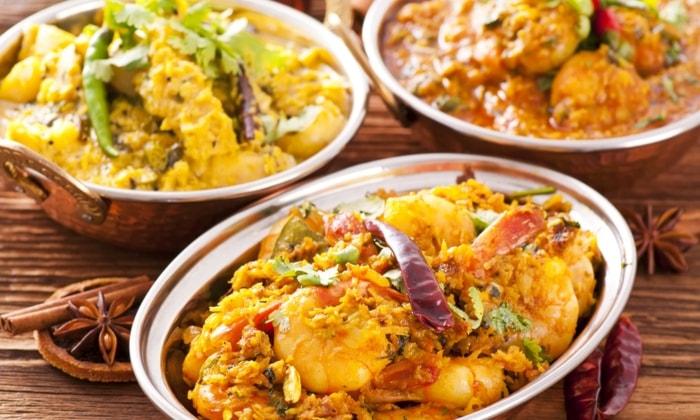 Menù indiano per 2