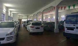 Parcheggio coperto 7gg