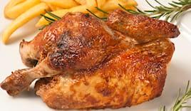 Pollo, patate e verdure