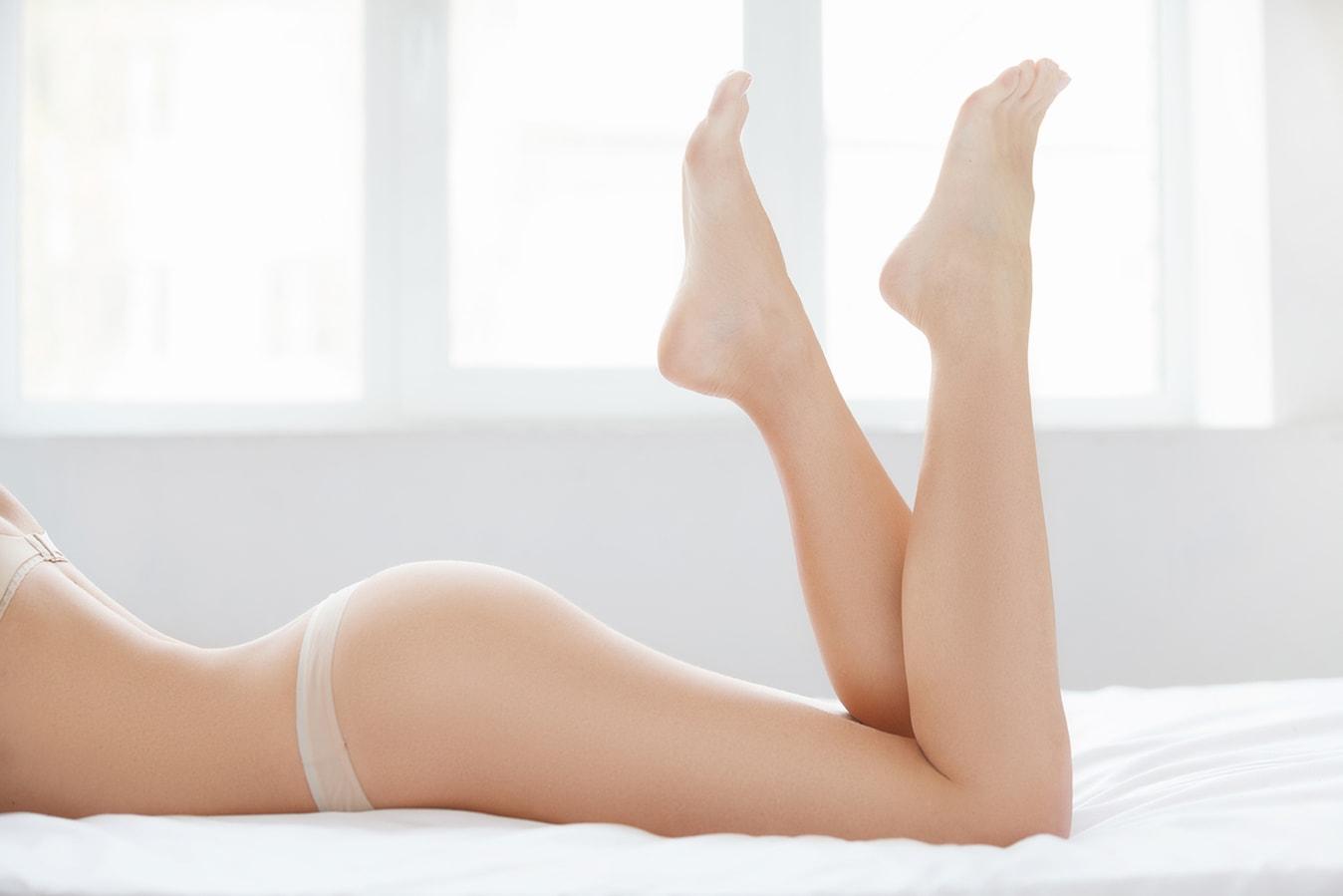 ceretta gamba e inguine