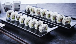 sushi da asporto 60pz