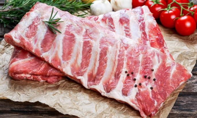 1 kg costato di maiale