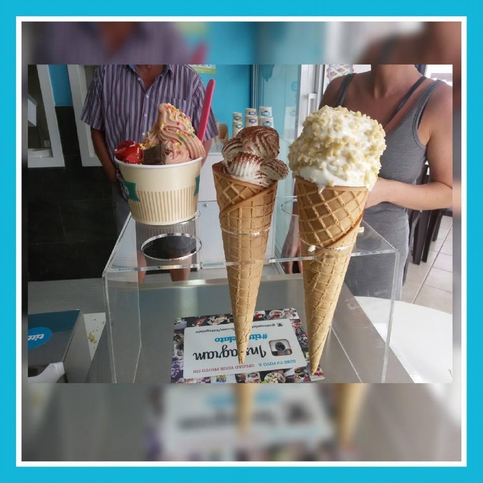 2 coni gelato titto