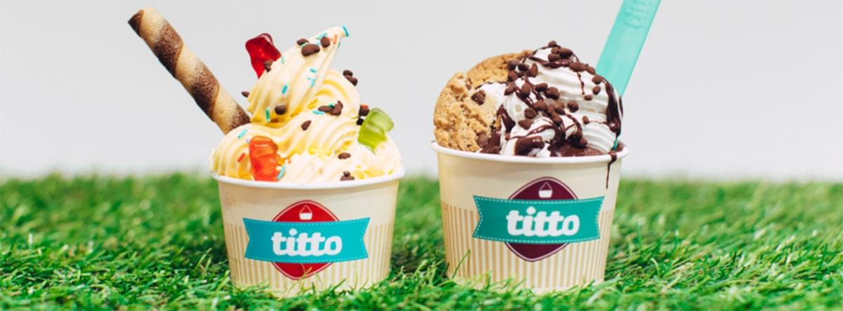 2 coppette gelato titto