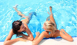 Ingresso piscina+lettino