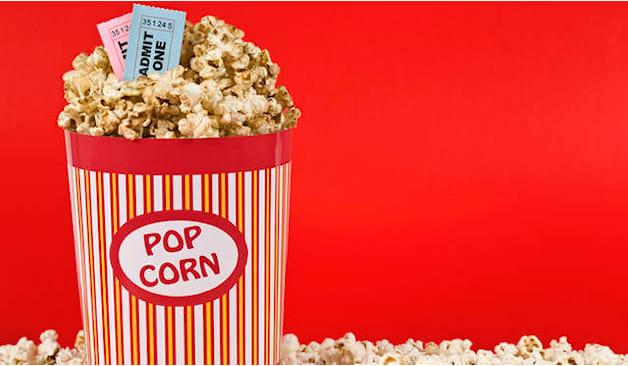 Raffaello bibita+popcorn