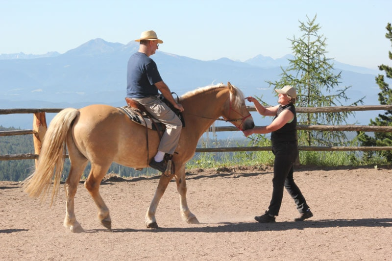 1 lezione equitazione