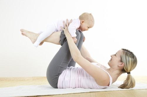 1 mese di yoga mom&baby